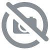 T-shirt Girl rayé Banner BleuRoyal-RougeBlanc
